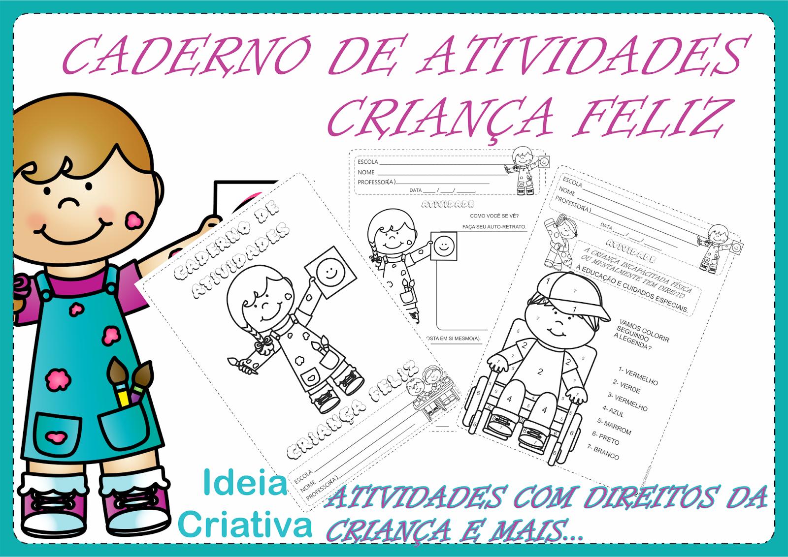 Caderno de Atividades Criança Feliz