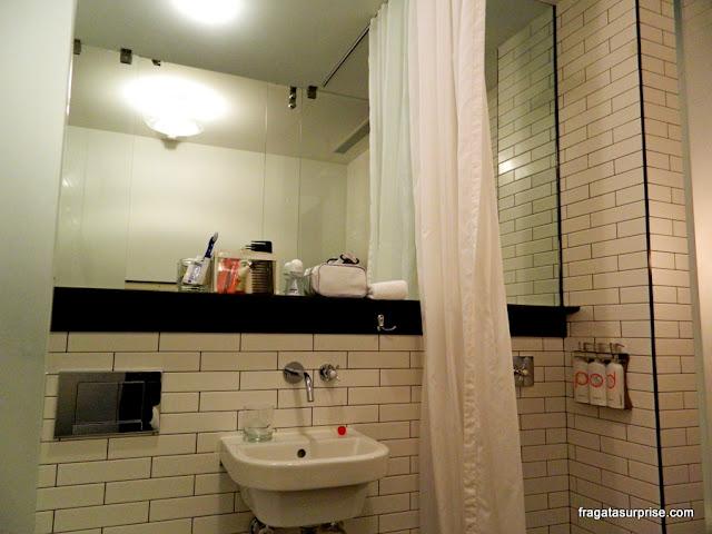 Banheiro do Hotel Pod 39, Nova York