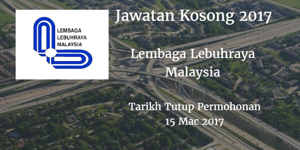 Jawatan Kosong LLM 15 Mac 2017