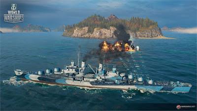 Top War Pc Game World of Warships  Free Download