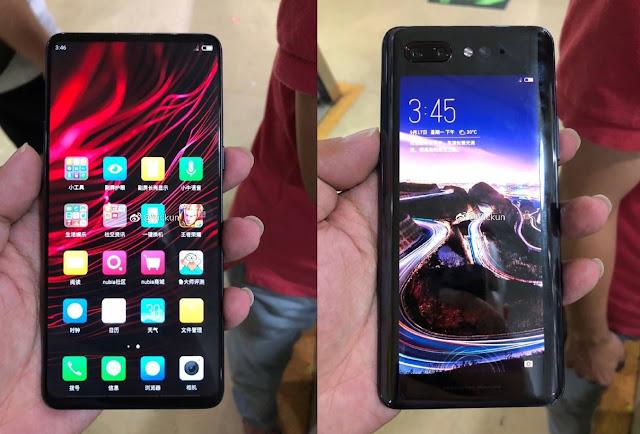 Ponsel Nubia Z18s Dual-Screen muncul di TENAA, paket Snapdragon 845 dan 8GB RAM