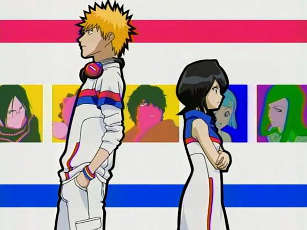 Bleach - Anime romance perempuan pendek lelaki tinggi