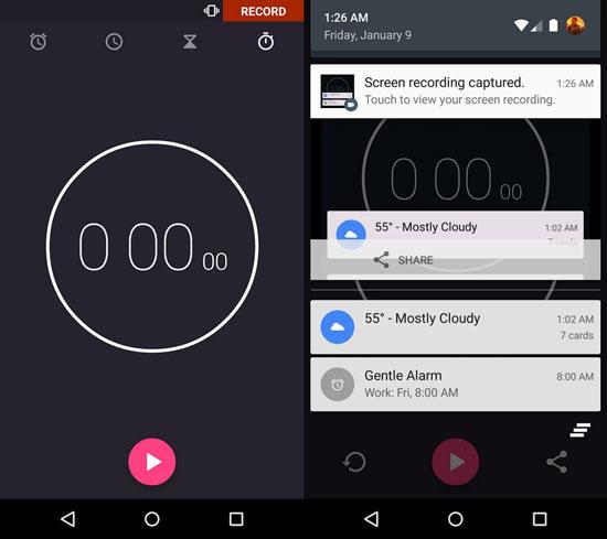 Perekam Layar Android