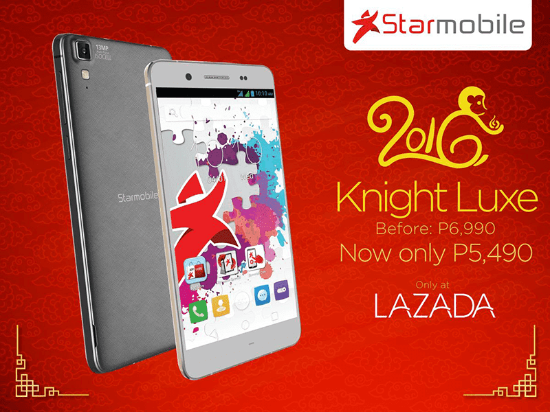 Starmobile Knight Luxe sale!