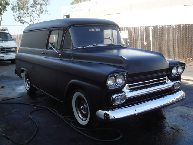 MOTOMO: For Sale 1958 Chevy Panel Truck