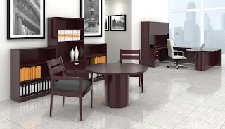 OTG Wood Veneer Ventnor Office Furniture