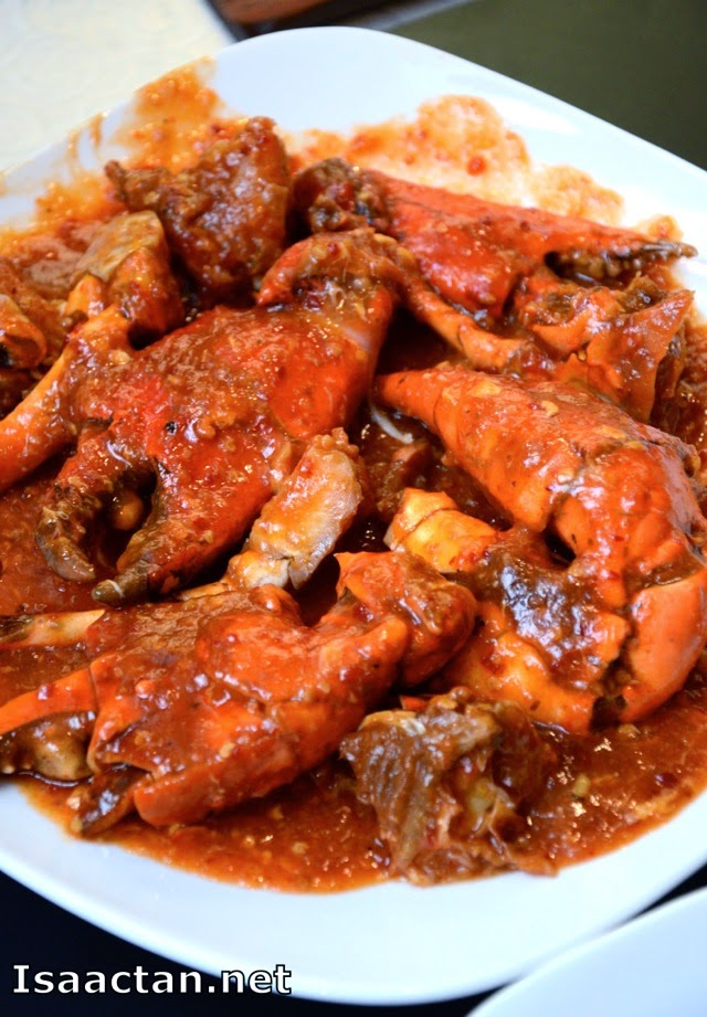 Wok Fried Chilli Meat Crab