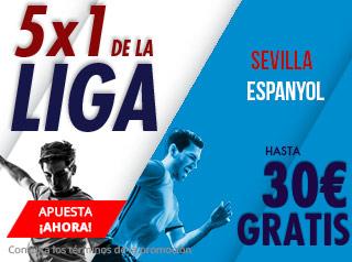 suertia promocion Sevilla vs Espanyol 11 noviembre