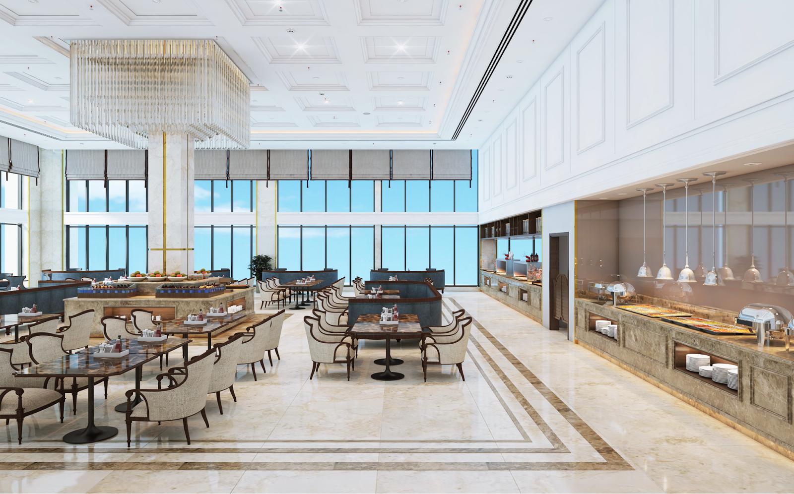 Nhà hàng sang trọng của Luxury Apartment