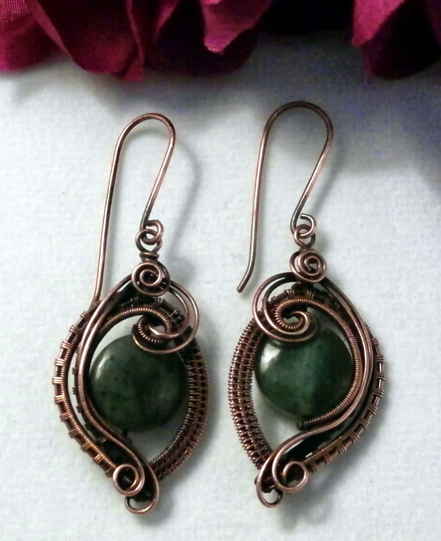 Unique Jewelry: Perfectly Twisted Handmade Wire Wrapped Beaded And