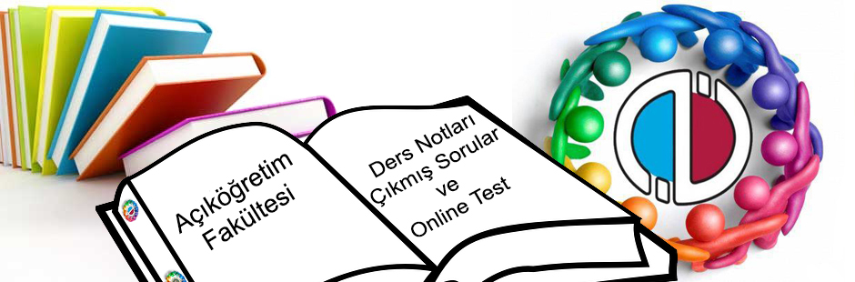 aof ders notlari cikmis sorular online test
