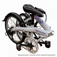 Sepeda Lipat Reebok Chameleon Arrow Rangka Carbon Steel 6 Speed 20 Inci
