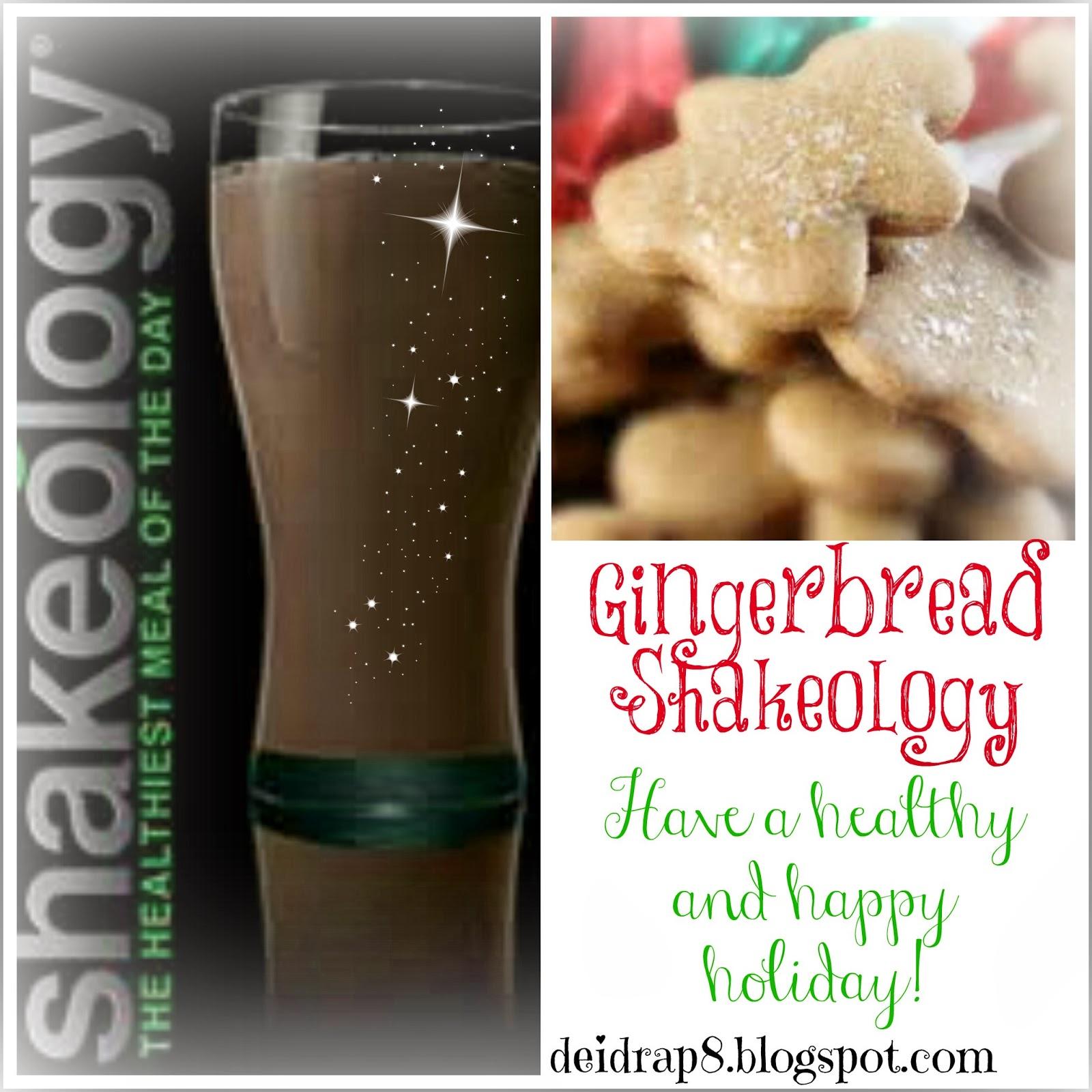 Deidra Penrose Gingerbread Shakeology