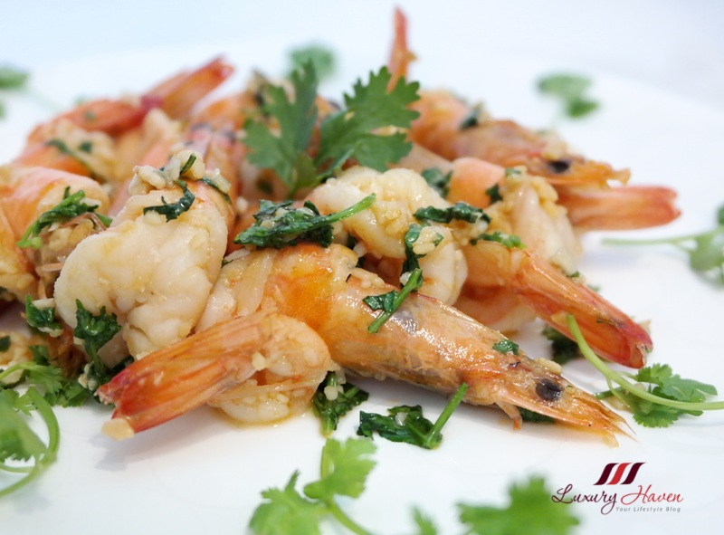 purelyfresh lemon butter garlic prawns recipe