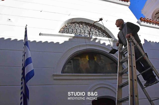 Ολοκληρώθηκαν οι εργασίες συντήρησης στον Άγιο Σπυρίδωνα Ναυπλίου
