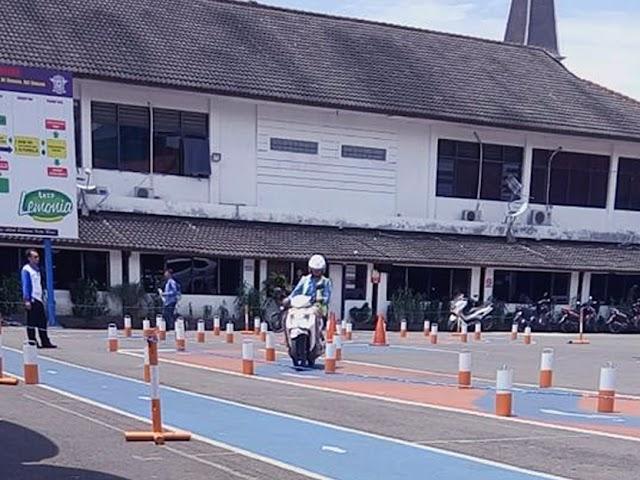 Tahapan Uji Praktik SIM A dan SIM C di Polrestabes Bandung