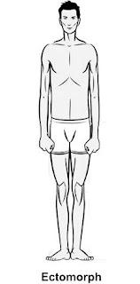 ectomorph, skinny, man, male, fitness, body type
