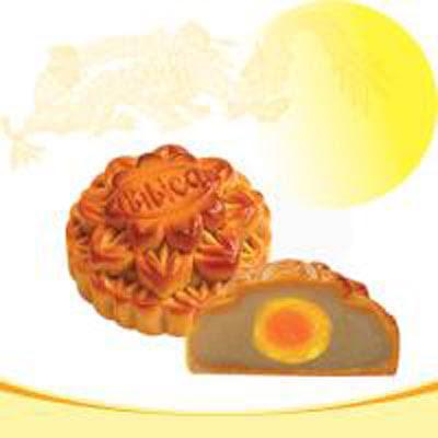 Bánh trung thu Bibica - Sữa dừa 1 trứng