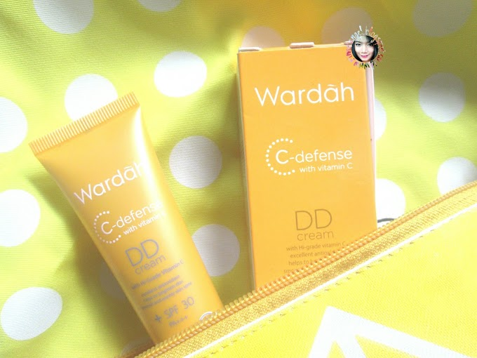 Flawless bersama Wardah C-defense DD Cream