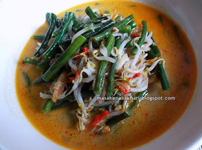 Resep Sayur Ulih Toge Kacang Panjang Khas Bali