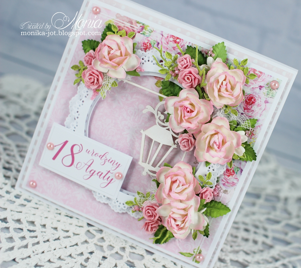 Wild Orchid Crafts 18th Birthday Card