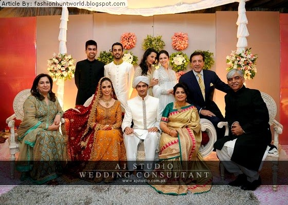 Wedding Al Pictures Of Shehzad Sheikh And Hina Mir