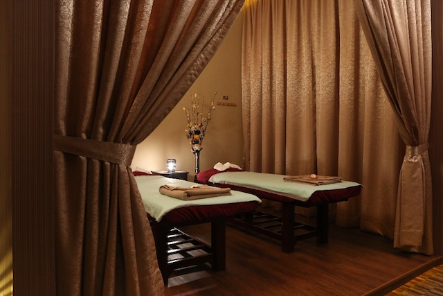 Various rooms for different treatments at HealthLand