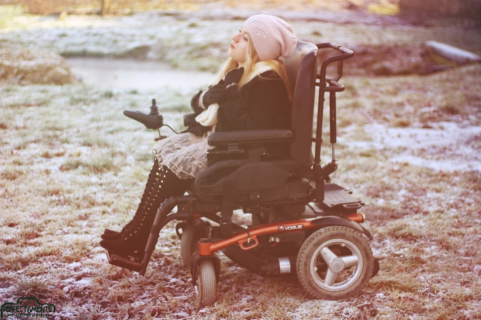 niepełnosprawna blogerka modowa