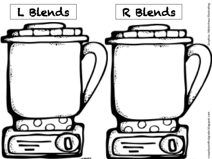 Crazy Daze in First Grade: Blender Blends Freebie