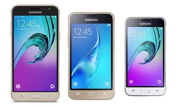 Galaxy J3 , J1 e J1 mini possuem Android Lollipop e processador quad-core