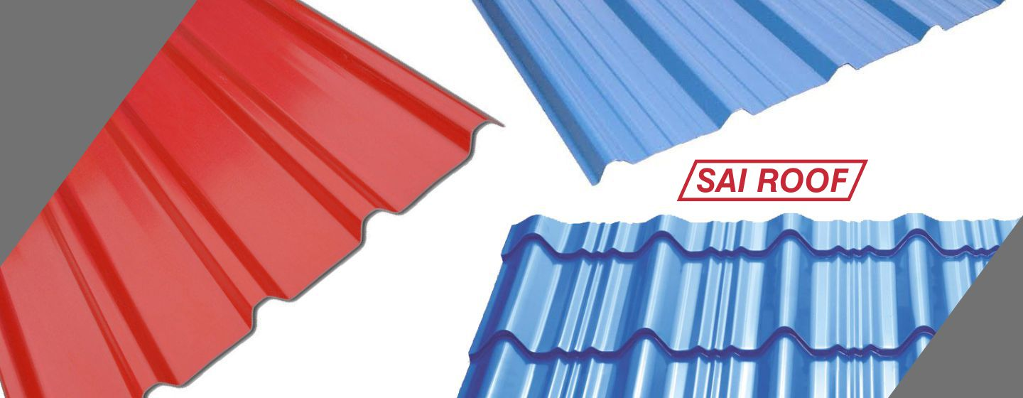 Meta colour sheets in bangalore - Colour Coated Roofing Sheet Manufacturers India