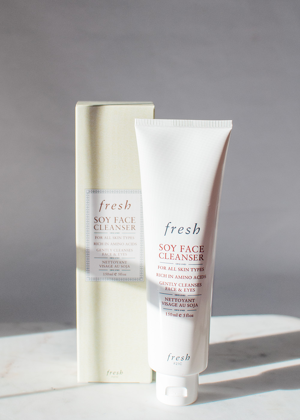 fresh soy face cleanser, fresh face cleanser review, gentle face wash, sephora fresh haul