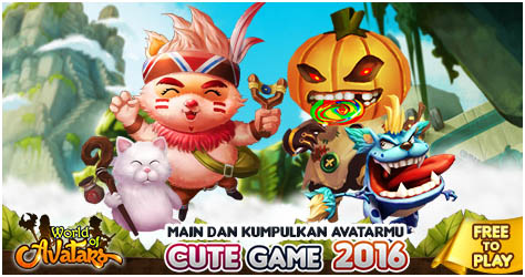Mengintip Mount di World of Avatars – Best Cute Game 2016