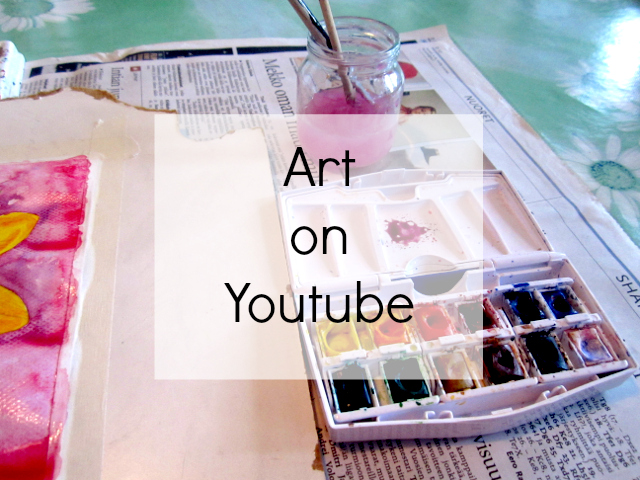 Art channels on Youtube watercolor