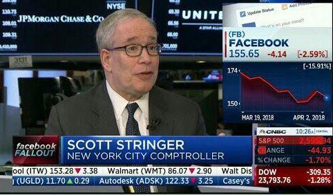 """Mark Zuckerberg Should Zuck Off And Quit"" - Investor Scott Stringer Says"