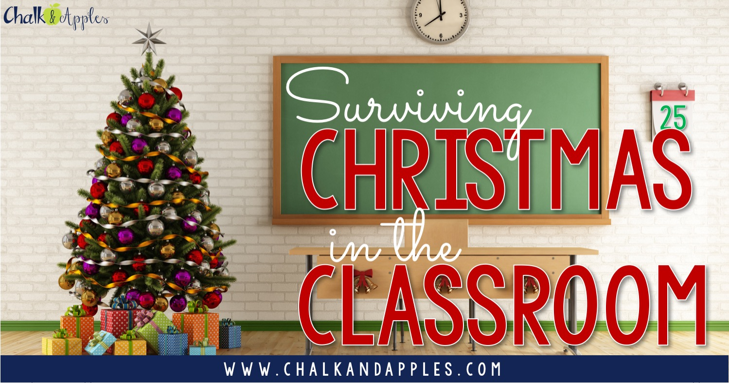 Surviving Christmas as a teacher is challenging, but you can do it! Here are some tips for making it your best December yet.