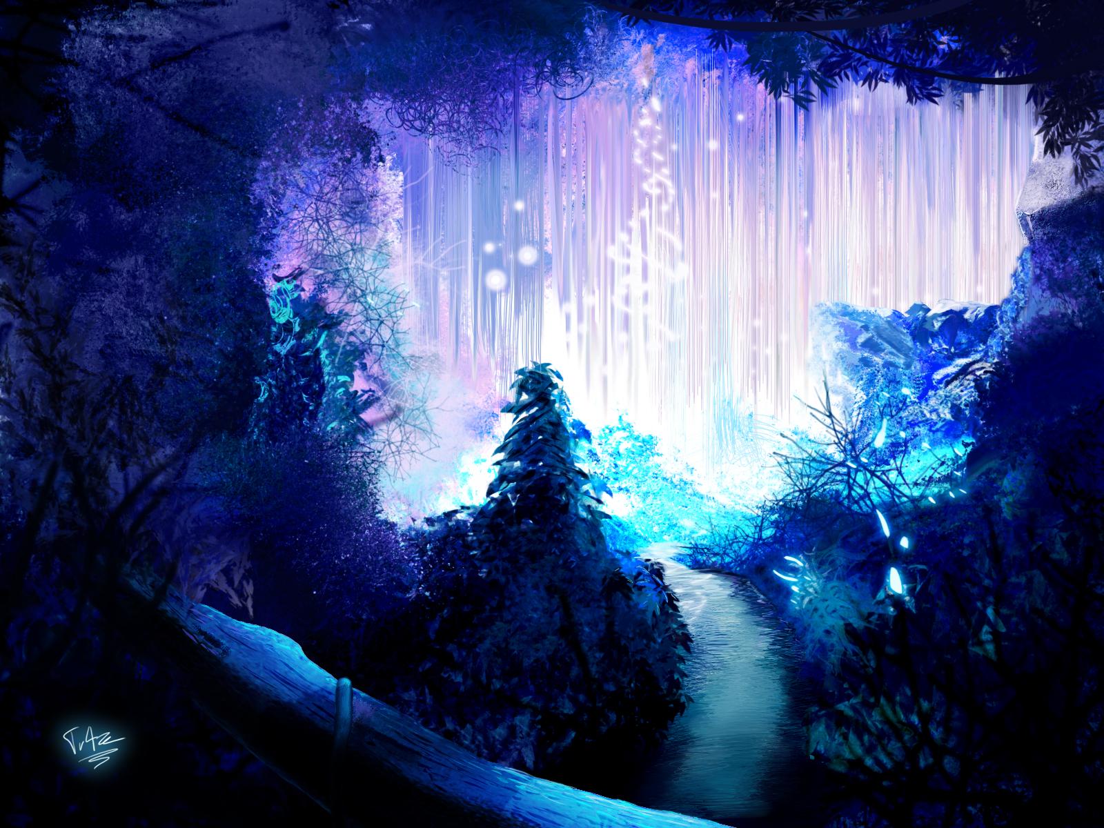 Blue Christmas Tree Forum Avatar