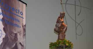 Presentado el monumento que la ciudad de Guadix levantará a San Torcuato
