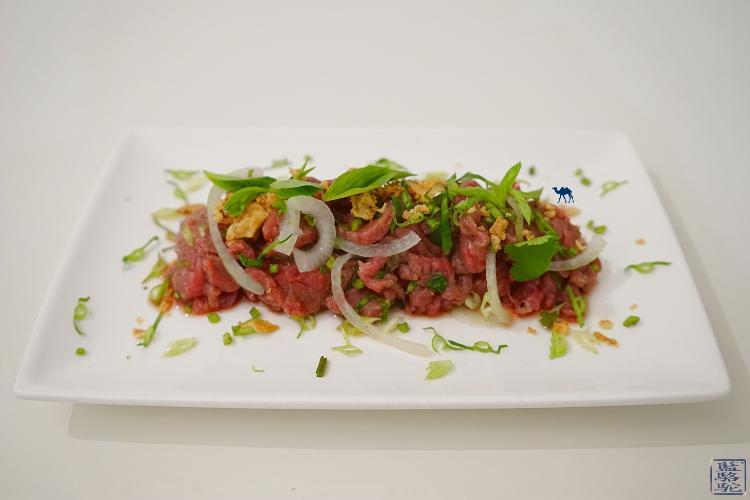 Le Chameau Bleu - Recette du tartare de boeuf vietnamien aux herbes aromatiques