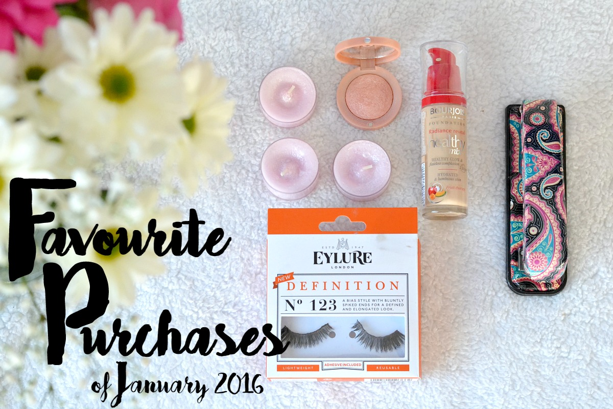 Favourite Purchases // January Edition