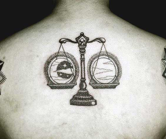 Libra tattoo 28
