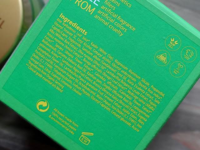Tata Harper Purifying Mask Ingredients