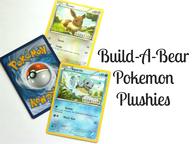 Build A Bear Pokemon