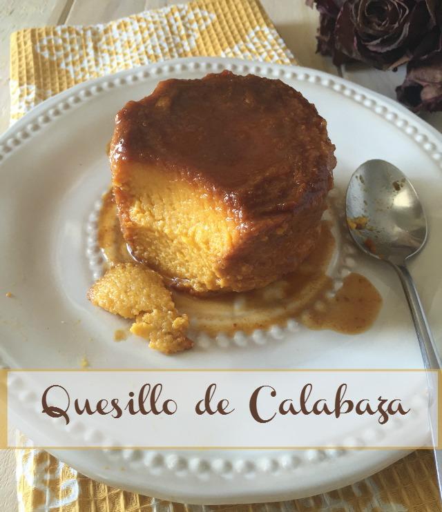 Quesillo de calabaza (auyama) | http://bizcochosysancochos.blogspot.com/