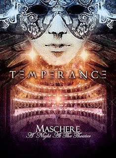 "Temperance - ""At The Edge Of Space"" (live) from the album ""Maschere: A Night at the Theater"""
