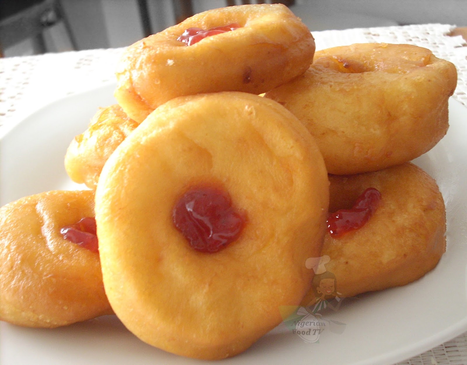 How to make nigerian donuts nigerian doughnuts filled with jam how to make nigerian donuts nigerian donuts nigerian doughnuts nigerian food tv forumfinder Choice Image