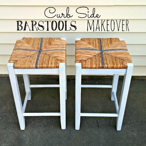 Curb Side Bar Stools Makeover