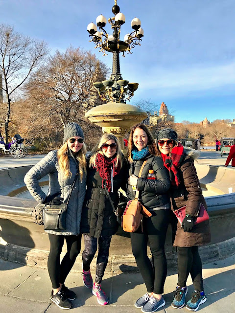 Friends fountain NYC
