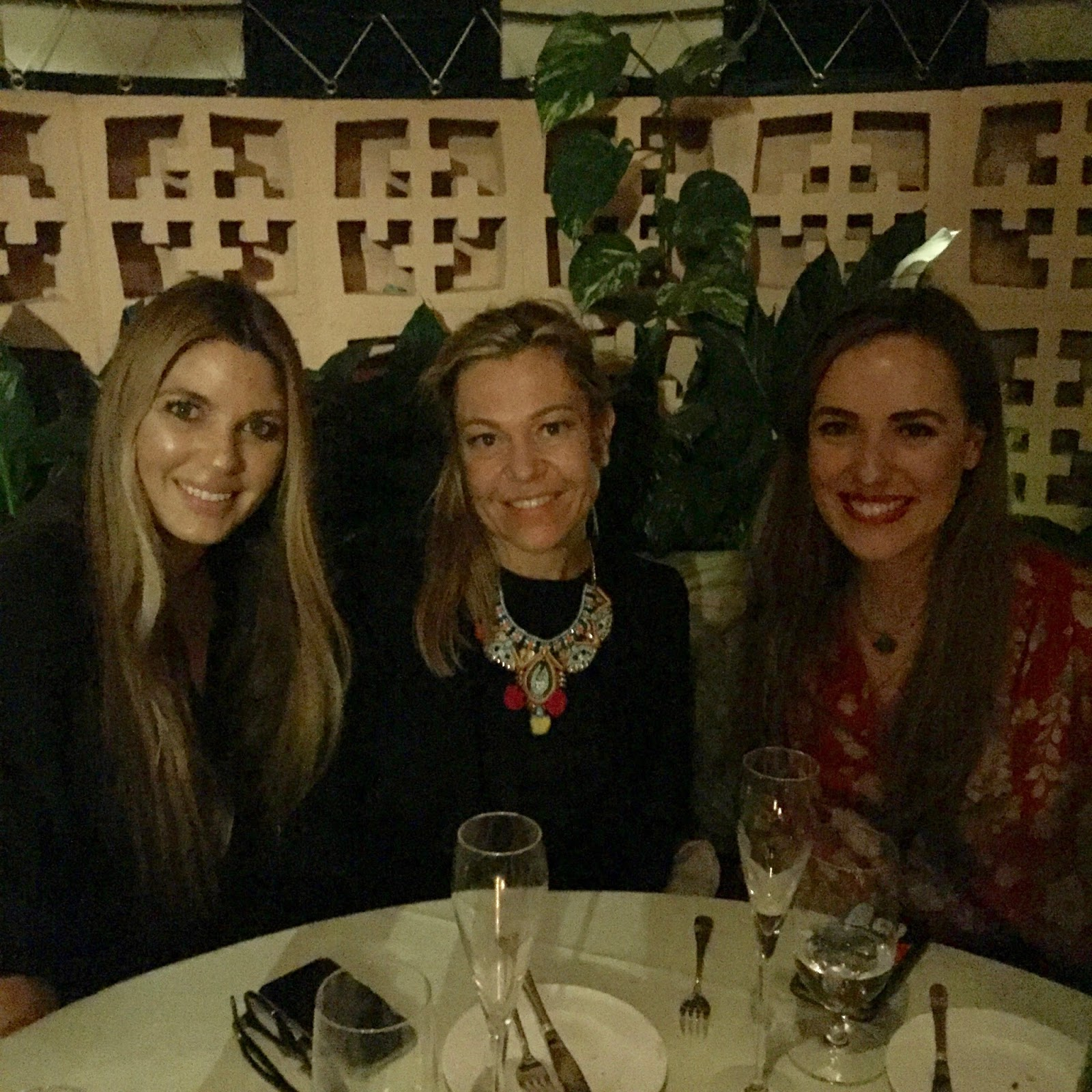 With Anne Chamoyan and Sisley-Paris Digital Marketing Manager Lucia Oriol  at the Beverly Hills Hotel 88b80e114
