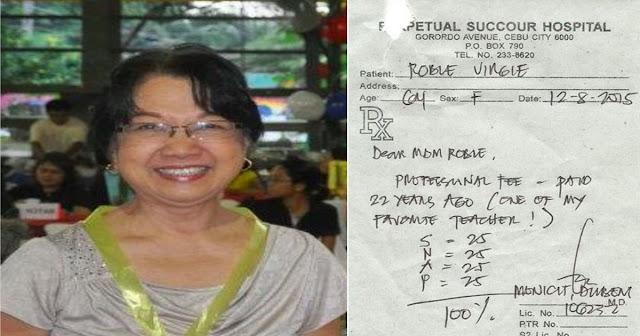 Former Student Pay Teacher's Hospital Bill/Pinoy Patrol